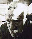 A photograph of Henry Darger